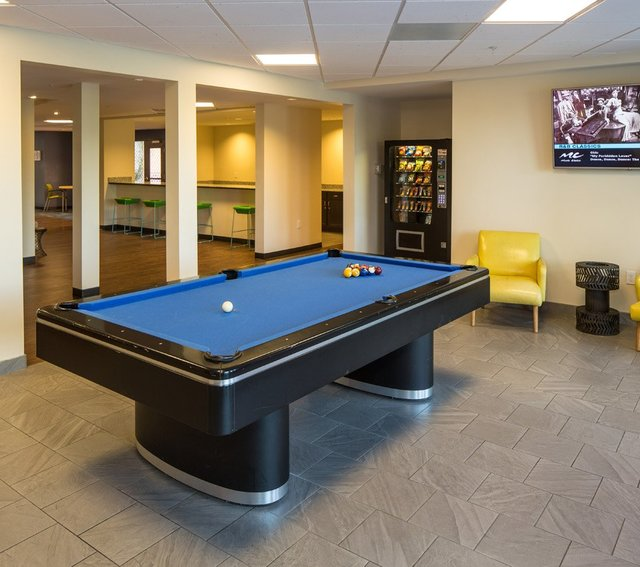Pool Table | The Hue Student Housing